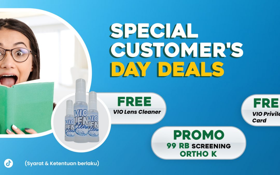 PROMO SEPTEMBER – VIO x CUSTOMER DAY'S DEALS